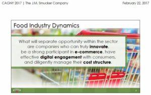 SJM - Food Industry Dynamics #2 Feb 22 2017 presentation
