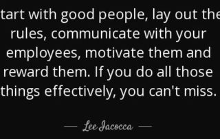 Lee Iacocca Quote on Motivation