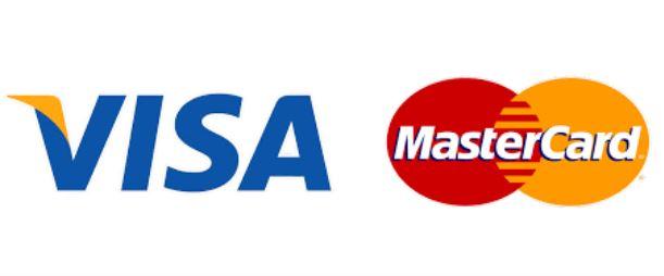 V and MA logos