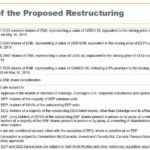 ENB - Key Terms of the Proposed Restructuring