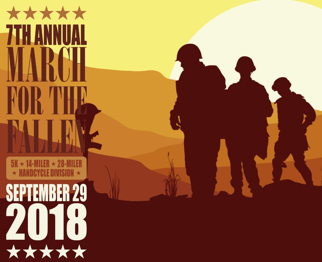 March for the Fallen - Sept 29 2018