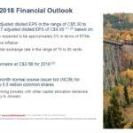 CNR - 2018 Financial Outlook Oct 23 2018