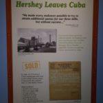 Hershey Leaves Cuba