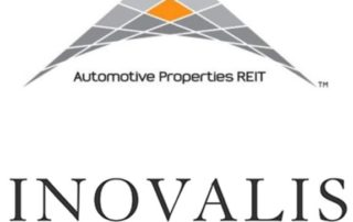 Automotive Properties REIT and Inovalis REIT logos