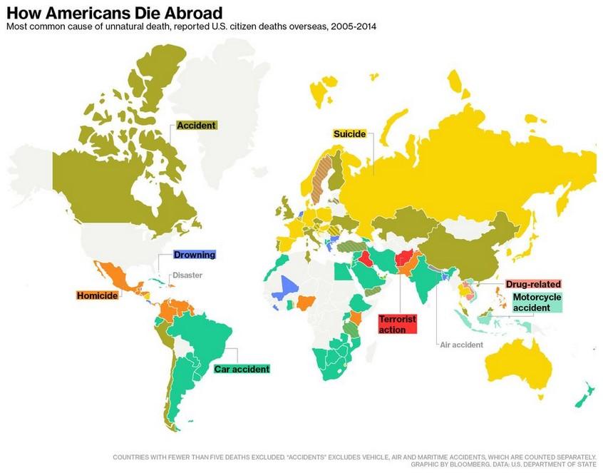 How Americans Die Abroad - Bloomberg July 27 2015