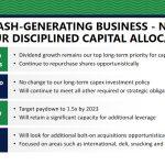 HRL - Strong Cash Generating Business